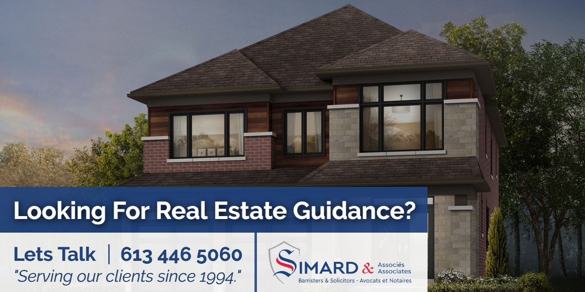 Looking for Real Estate guidance? | Real Estate Law Questions | Simard & Associates