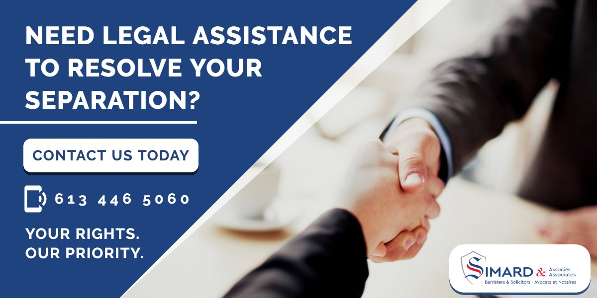 Need legal assistance to resolve your separation? | Simard & Associates]