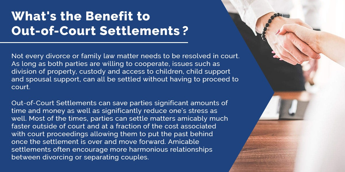 What's the benefit to out-of-court settlements? | Simard & Associates