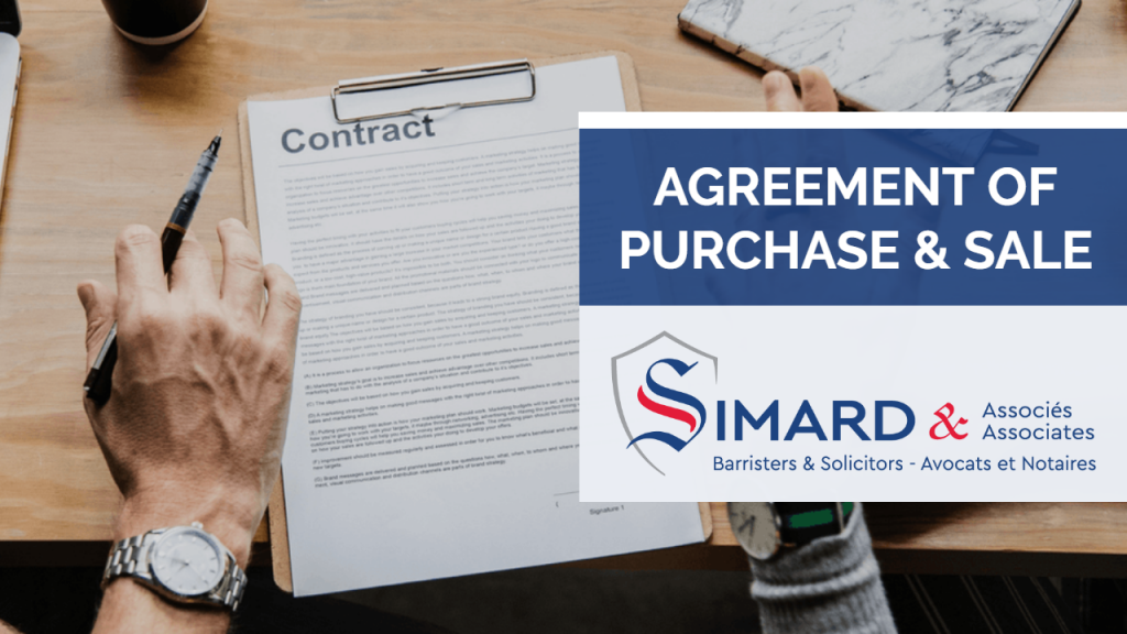 What makes up a real estate contract? | Simard &Associates
