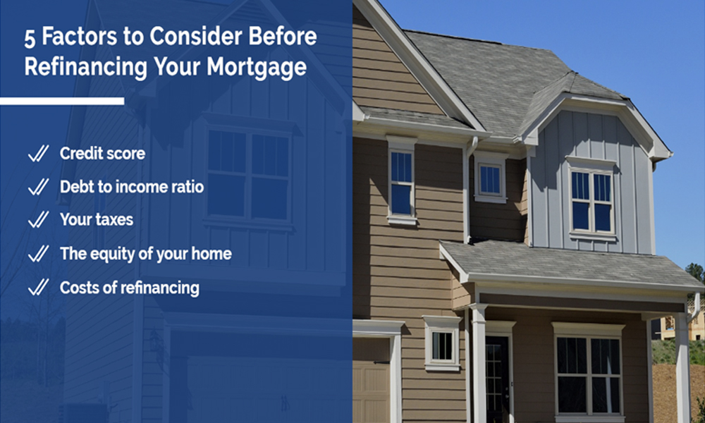 5 factors to consider before refinancing your mortgage | Simard & Associates