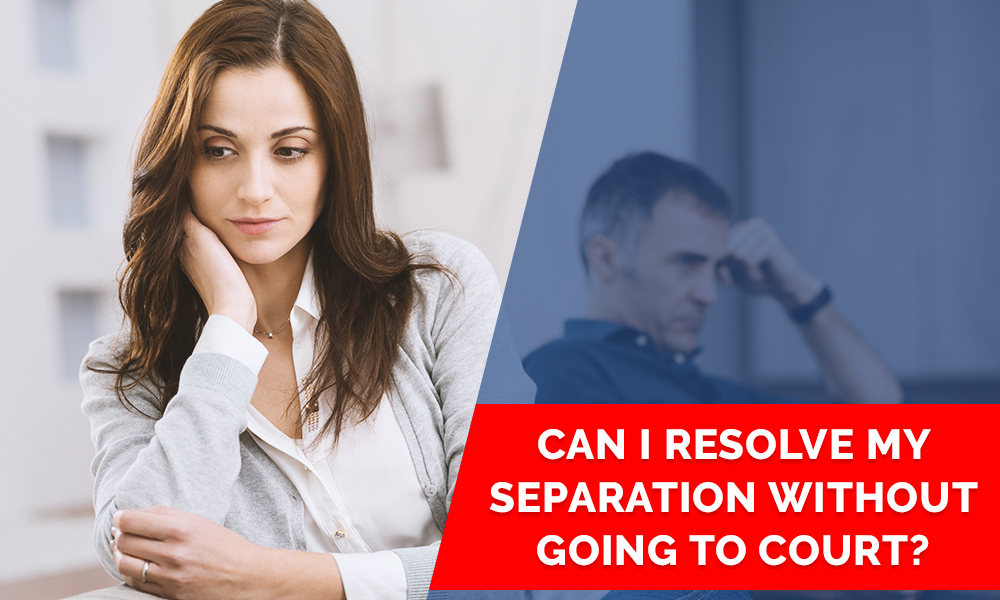 Separation without going to court